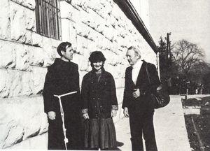 Padre Tomislav, Vicka e Renè Laurentin