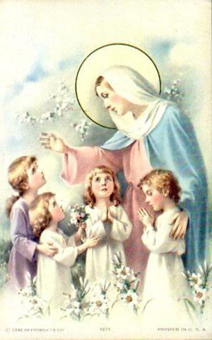 Maria Maestra di Preghiera