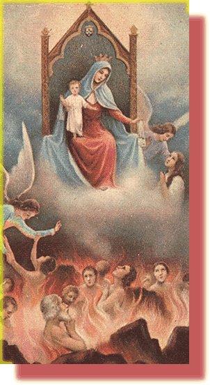 Maria SS intercede per i defunti