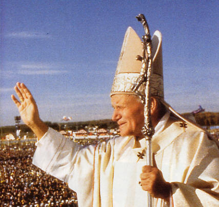 PapaGiovanni PaoloIIbenedizione