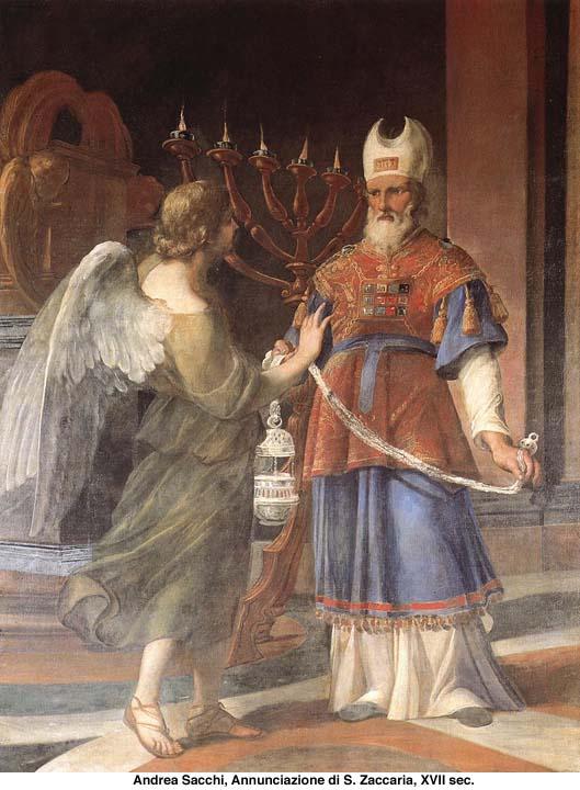 Zaccaria e l'arcangelo Gabriele