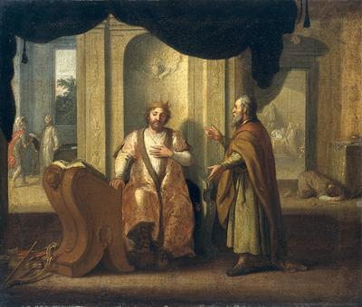 Davide e il profeta Natan