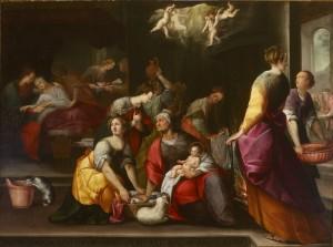 P474_Artista Lombardo, Nascita del Battista