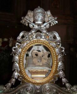 San Silvestro reliquia