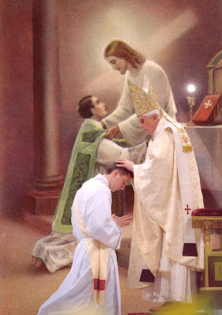 gesu sacerdote e papa perornx1