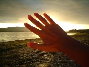 tendi la mano