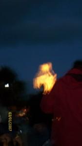 La statua della Madonna prima dell'apparizione sul Podbrdo