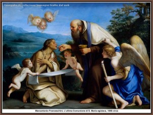 Franceschini - Comunione Santa Maria egiziaca