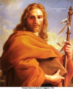 san Giacomo il maggiore detto di Zebedeo