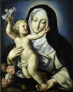 beata Chiara Gambacorta e Gesù Bambino
