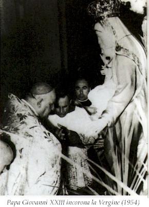 papa giovanni xxiii incoronala vergine