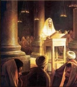 Gesù al tempio