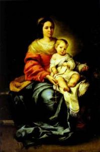Madonna-del-Rosario-(Palazzo Pitti)_MURILLO