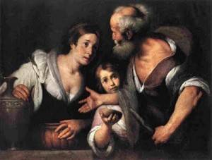 Elia e la vedova