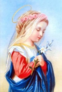 Maria bambina
