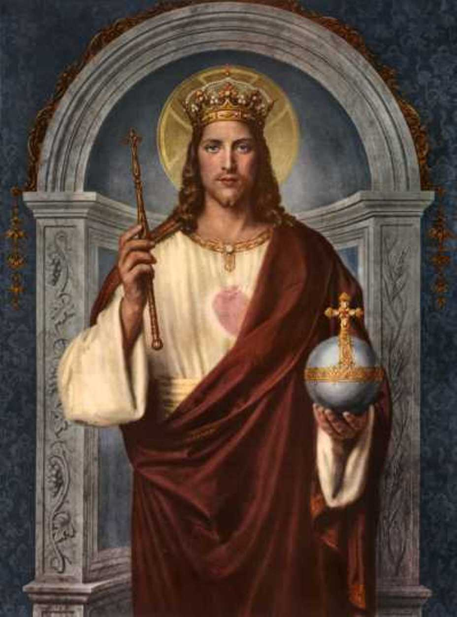 Maria Regina dell'universo ✞ ☧ (Biscobreak gusto paradiso)Solennità di Cristo  Re