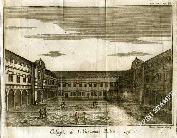 collegio di S. Giovanni ad Oxford