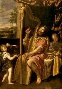 davide canta al Signore
