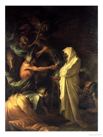 Samuele appare a Saul