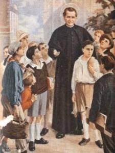 Don Bosco e i suoi ragazzi