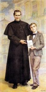 San Giovanni Bosco e San Domenico Savio