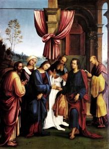 nozze della Vergine - Lorenzo Costa