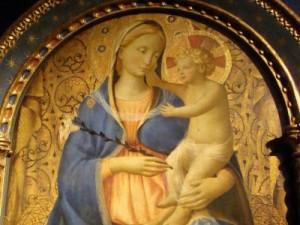 Beato Angelico - Madonna del Giglio
