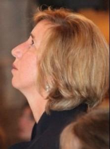 Marija durante l'apparizione