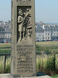 S. Caedmon monumento