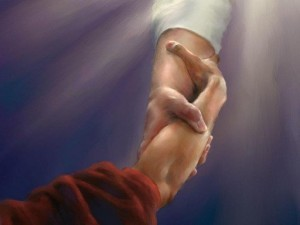 cristo tende la mano