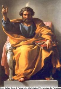 pietro apostolo in cattedra