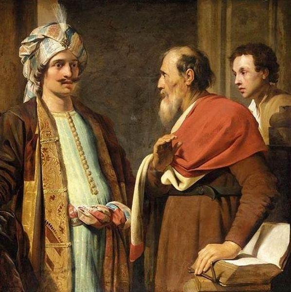 1Eliseo rifiuta i doni di Neemia