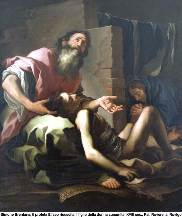 Eliseo profeta e la vedova