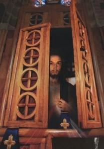 Gesù nel confessionale
