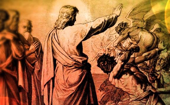 Gesù scaccia i demoni