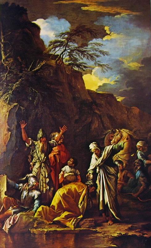 San filippo battezza l'eunuco della regina Candace