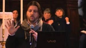 Flaviano Patrizi introduce la testimonianza di Gloria Polo