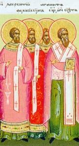 Santi Montano, Lucio e co.1