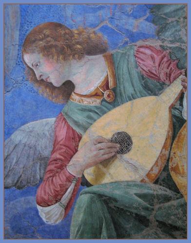angelo che canta