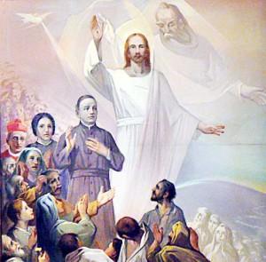 santi con trinità