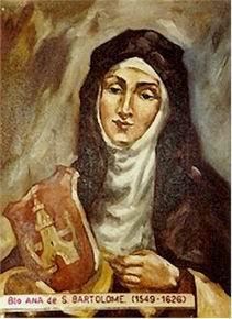 B. ANNA DI SAN BARTOLOMEO