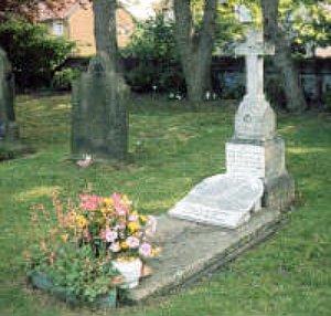 Teresa Helena Higginson la tomba