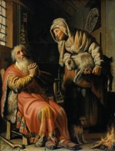 Tobia e la moglie Anna