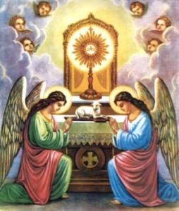eucarestia e angeli