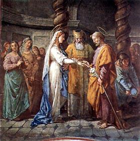 giuseppe - nozze di Maria e Giuseppe