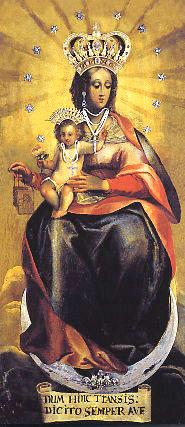 Beata Vergnine Carmelo Madonna apparizione