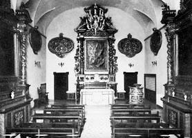 Chiesa del monastero di S. Giovanni. Quì è sepolta la Venerabile