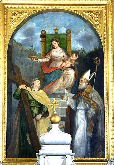 Sant'Elena e san Tiziano con la Madonna e il bambino