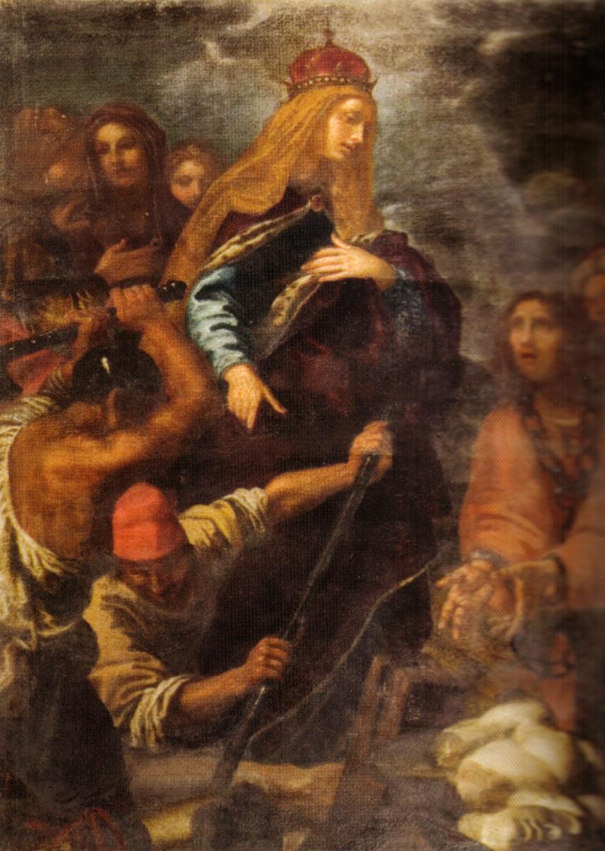 Sant'Elena che guida gli scavi per il ritrovamento della Santa Croce