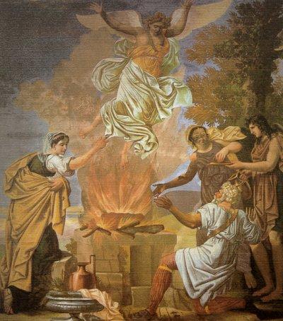 Gli israeliti abbandonano il Signore